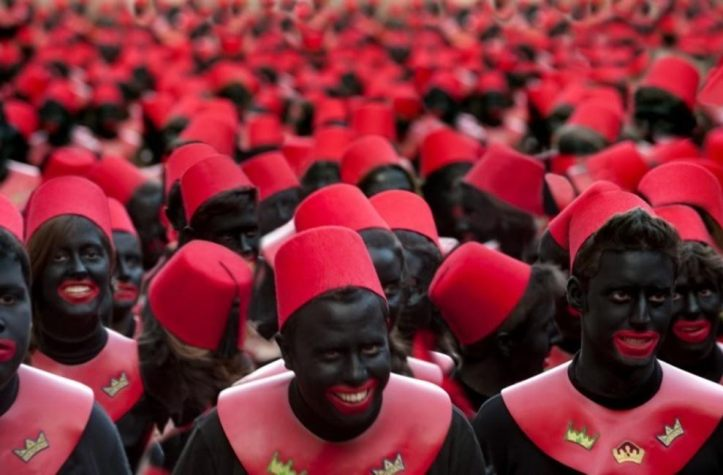 A massive blackface in Alcoy, may be an Intangible heritage of Humanity?