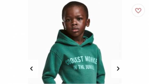 Negrofobia en H&M para vender sudaderas