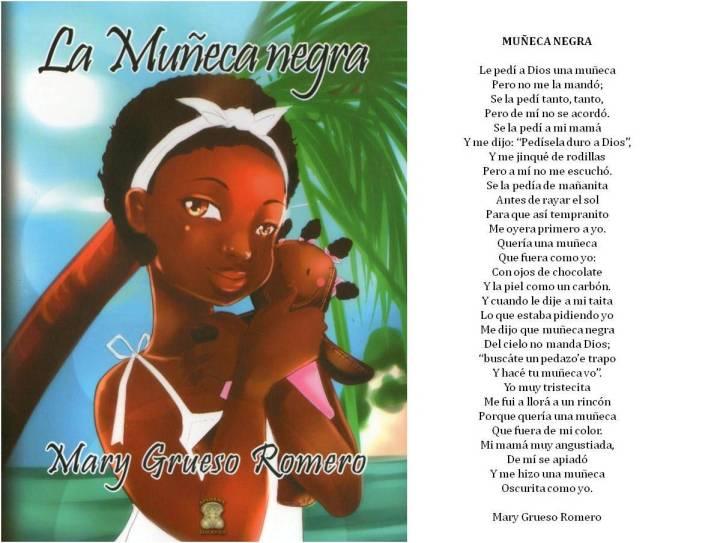 MUÑECA NEGRA DE MARY GRUESO ROMERO