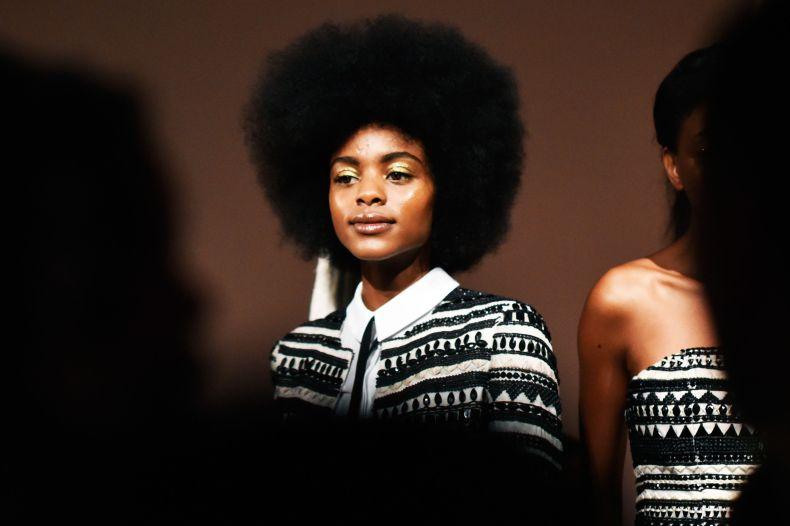 El afro está de moda