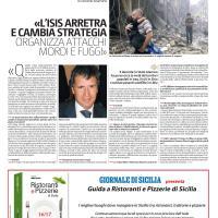 Intervista sulla nuova strategia dell'Isis (Siria, Iraq, Libia)