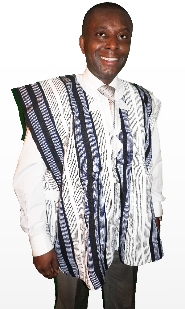 Traditional men's sleeveless Ghana batakari top