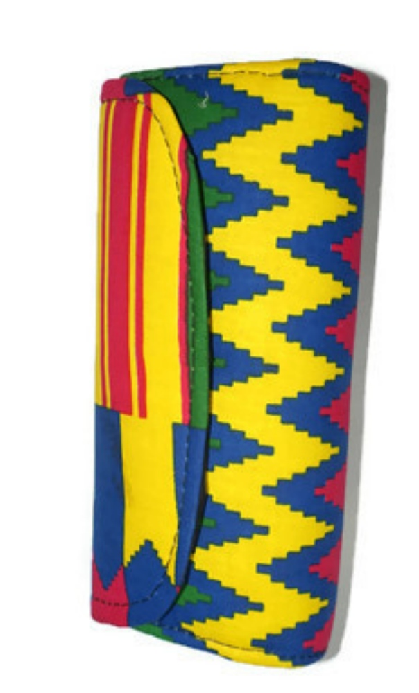 Kente clutch purse