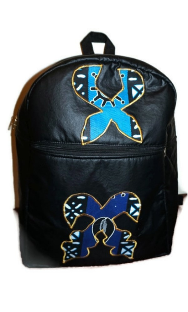 leather packpack