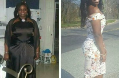 "Abimbola shares her weight loss story : ""I love food!..I like it bad, I like it fried"""