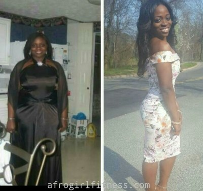"Abimbola shares her weight loss story : ""I love food!..I like it bad, I like it fried"""