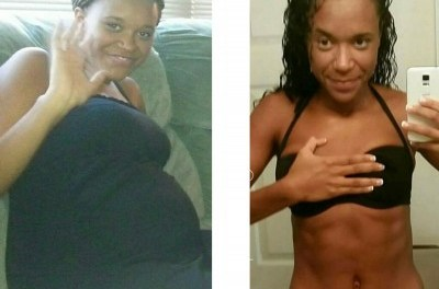 Working out helped with my depression, weight loss was secondary