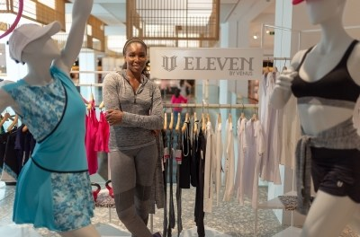 Venus Williams Launches New Eleven Collection at Selfridges