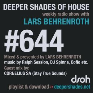 Cornelius SA - Deeper Shades Of House #644 - deep house mix, afro house mixtape