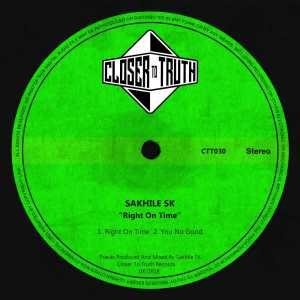 Sakhile SK - Right On Tiime EP