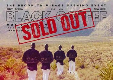 Black Coffee Sells Out Brooklyn Event in The US