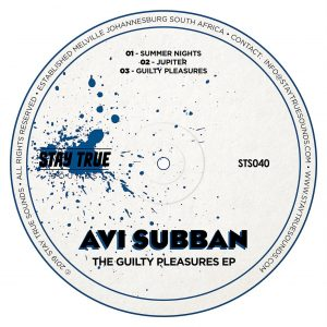 Avi Subban - The Guilty Pleasures EP, House music download, new deep house music, latest house music, minimal house music