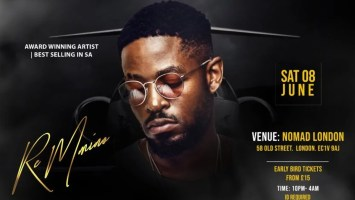 Prince Kaybee Sells Out Nomad London