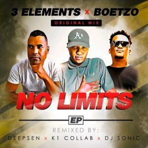 3Elements & Boetzo - No Limits EP, latest house music, deep house tracks, house music download, club music, afro house music, new house music south africa, afro deep house, afrohouse songs, best house music