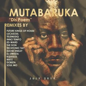 Mutabaruka - Dis Poem (TechTonic Tay Repro-Edit), latest house music, deep tech, deep house tracks, house music download, club music, deeptech, afro tech, afro house music, new house music south africa, afro deep house