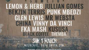 Black Coffee - Live At (Deep In The City Soweto)