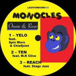 Monocles - Onom & Roses EP