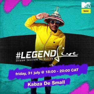 Kabza De Small - Legend Live By Oskido Mix