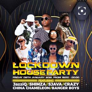 Mr JazziQ - Lockdown Houseparty Mix 2021
