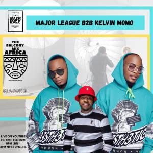 Major League & Kelvin Momo - Amapiano Live Balcony Mix B2B (S2 EP5)