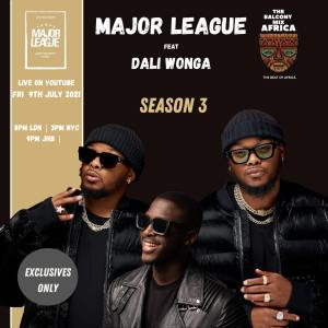 Major League Djz - Amapiano Balcony Mix Africa Live with (Daliwonga)