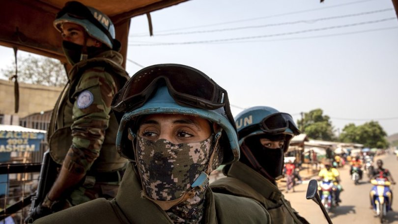 UN peacekeepers killed in Central African Republic on eve of election - BBC  News
