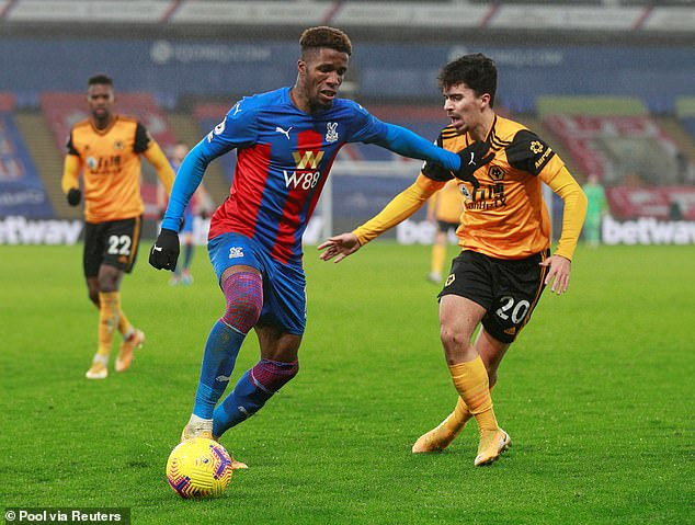 Wilfried Zaha Says It's Degrading To Take The Knee and He Will No Longer Do It