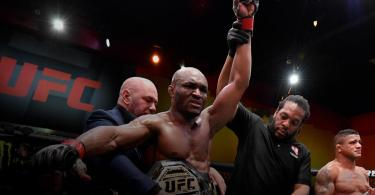 UFC: Kamaru Usman Defends His Welterweight Title As He Knocks Out Gilbert Burns