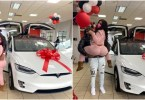 See N30 Million Worth Tesla Valentine Gift Lady Gets From Her Lover