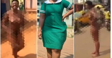 Beautiful Nurse Runs Mad After Leaving Her Husband For a Young Teacher