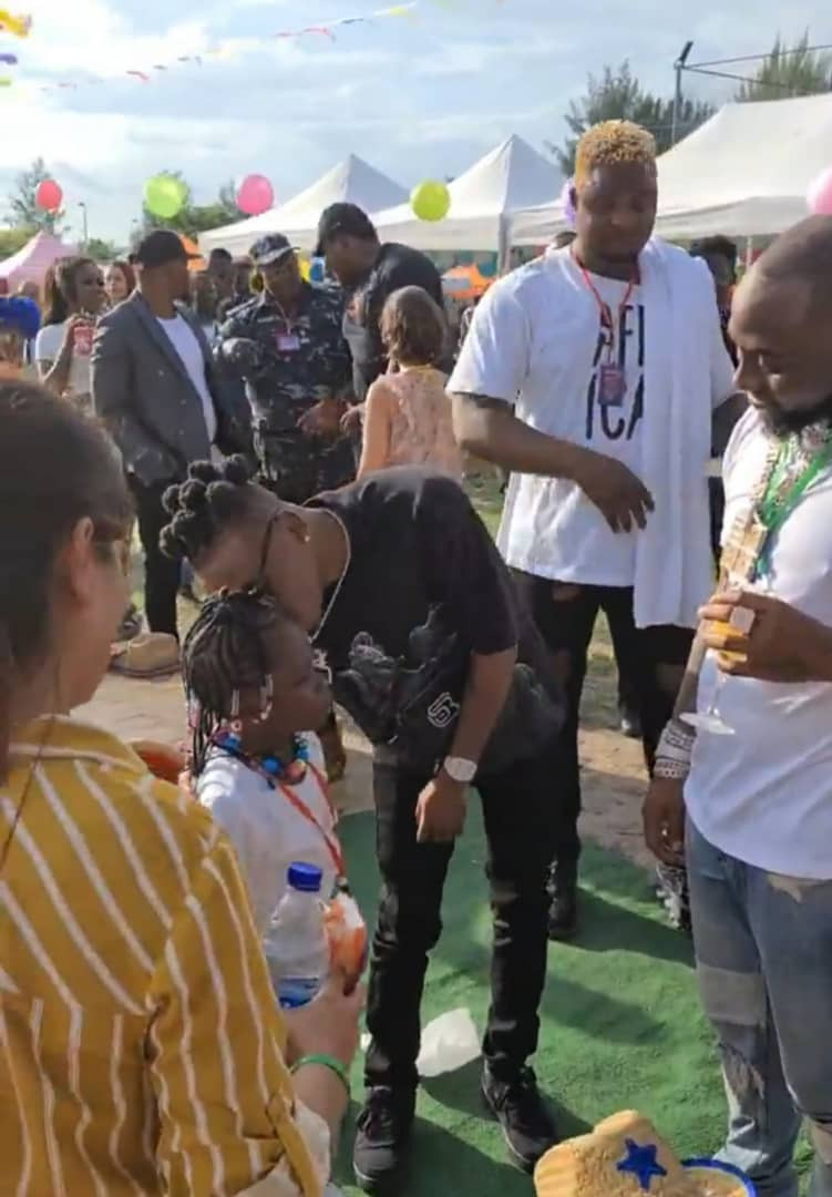 Davido Celebrates His Daughter Imade As He Throws Massive Birthday Party For Her