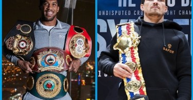 WBO Orders Anthony Joshua To Defend His Heavyweight Title Against Oleksandr Usyk