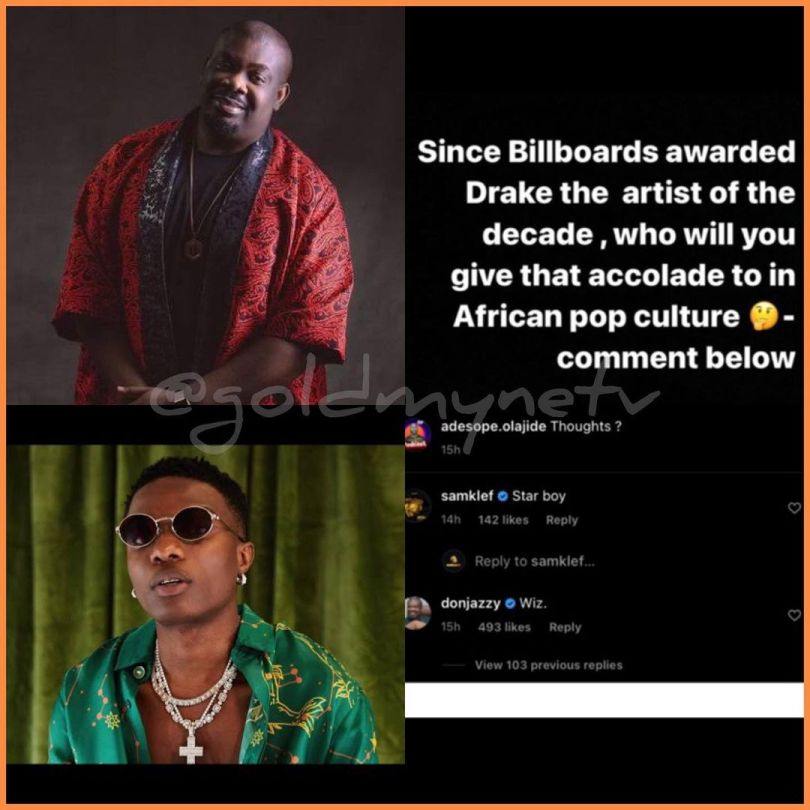 """Don Jazzy Declares Wizkid As The """"African Artist Of The Decade"""""""