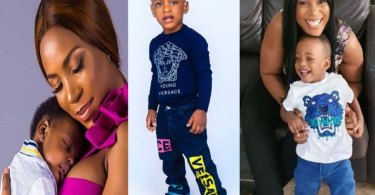 See What Linda Ikeji's Son Said To Her That Made Her Year