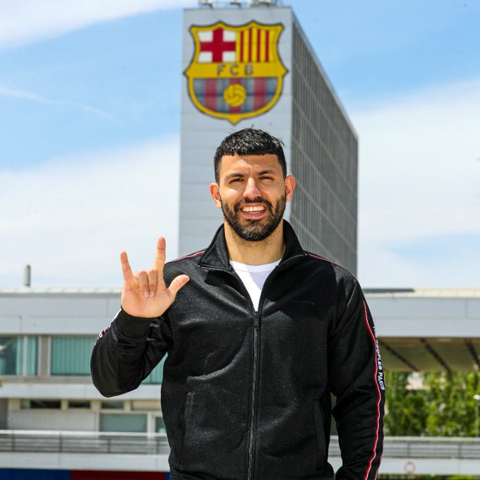 Sergio Aguero Manchester City Striker, To Sign a Two-Year Contract with Barcelona