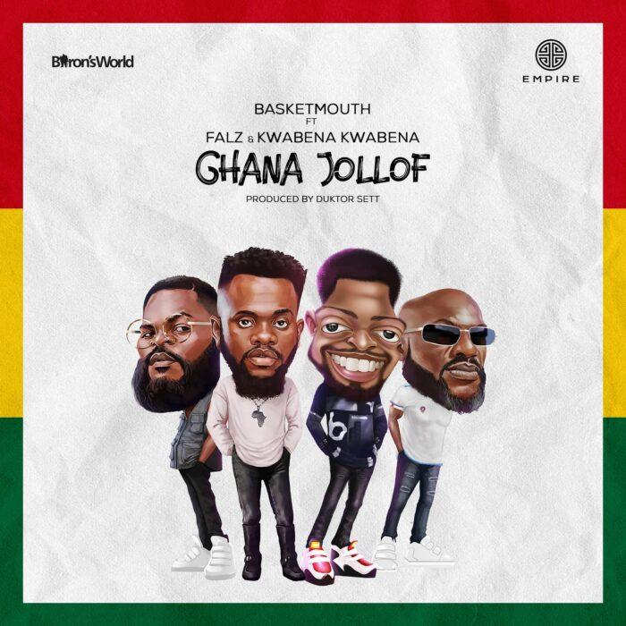Download MP3: Basketmouth – Ghana Jollof ft. Falz & Kwabena Kwabena