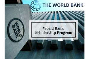 Japan World Bank Graduate Scholarship Program for Developing Countries