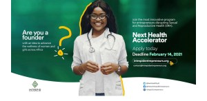 Next Health Accelerator Program 2021 Application