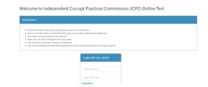 How to Take Your ICPC Recruitment Test Online
