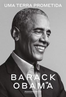 Capa de Uma terra prometida, de Barack Obama.