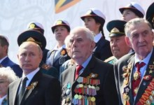 Photo of Russian parade defies pandemic as Putin stages power bid without wearing face mask