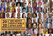 Photo of 2020 List of 100 Most Reputable Africans