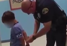 Bodycam footage shows 8-year-old boy arrested at school