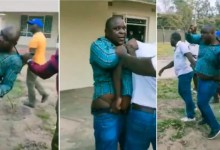 Photo of Man Caught Red Handed With Boss' Wife