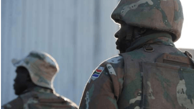Photo of South African soldier charged with attempted murder for 'knowingly' infecting girlfriend with HIV