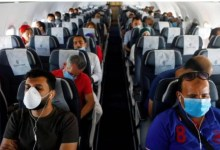 Photo of Researchers show how coronavirus spreads on planes
