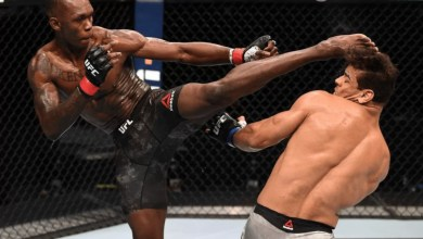 Photo of Nigerian MMA fighter, Israel Adesanya knocks out Paulo Costa to retain his UFC middleweight title (Videos)