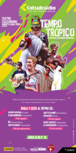 Tempo Tropico : un festival que rompe fronteras en Bogotá
