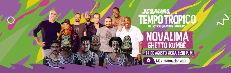 Ghetto Kumbé y Novalima en la segunda noche de Tempo Trópico