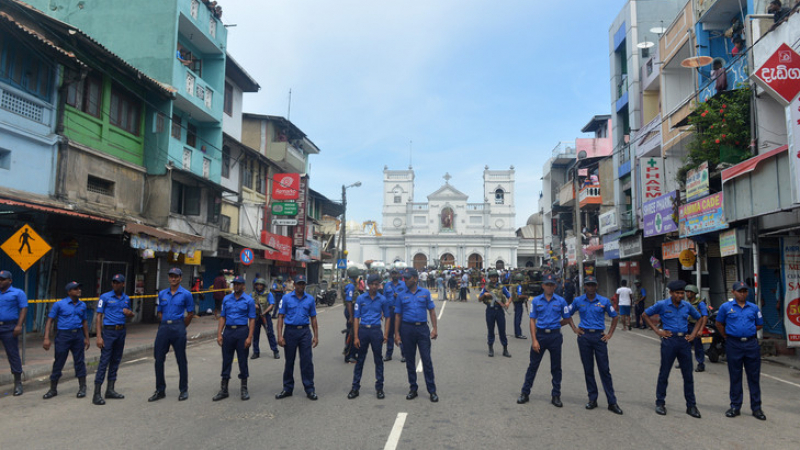 Sri Lanka Les églises catholiques fermées
